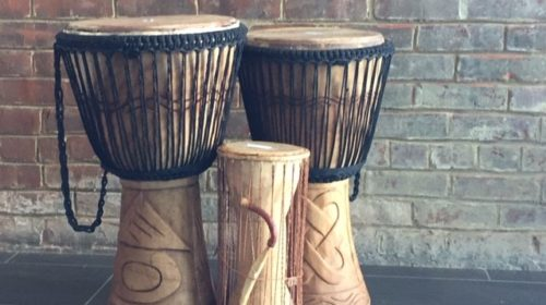 Drums in Gift Shop
